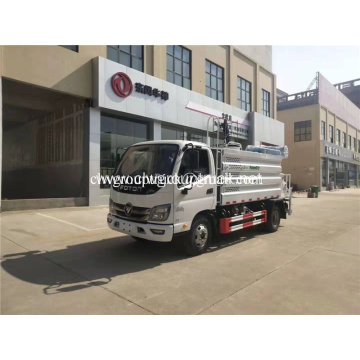 5cbm sprinkler with dust suppression truck