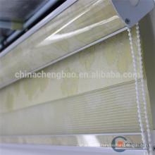 European style jacquard zebra blind fabric window blind