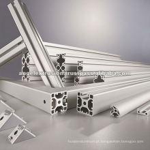 Extrusão de alumínio para peça de maquinário