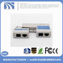2015 Nouveau RJ45 RJ11 Cat5 Cat6 Network LAN Cable Tester avec Keychain 9 LEDs Ethernet Cord Tracker Detector