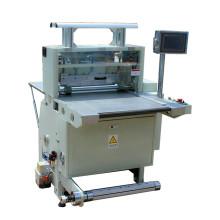 Machine de coupe automatique d'étiquettes d'autocollant demi-coupe