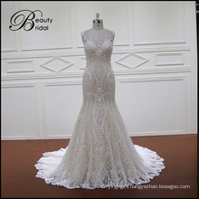 Lace Wedding Dress with Lace Strap
