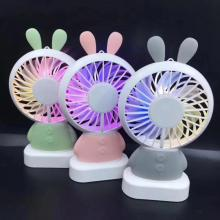 Wiederaufladbare KC Batterie Handheld Led Fan für Korea