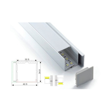 Beleuchtungsdesign White Linear Light