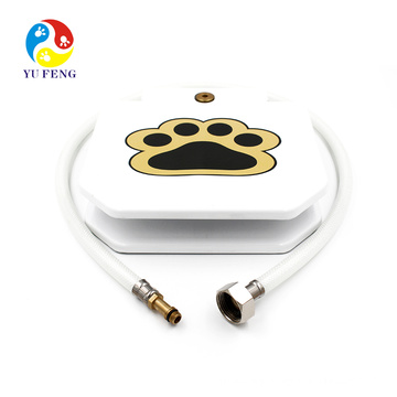 """Best selling products Outdoor dog feeder Outdoor drinking fountain with dog bowl Nice Outdoor Dog Water Feeder With 41"""" Hose Pet Step-on Drinking Training Tool for Dogs drinking fountain for dog pets"""