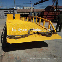 Hontylift Manual mobile hydraulic dock ramp--DCQY series
