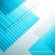 Polykarbonat-Blatt Multiwall Blatt Skylight Roofling Bleche 50 Micor UV, 10 Jahre Garantie