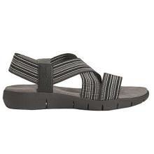 Sandalias de deporte del dedo del pie abierto del cuero de imitación de la correa del tirón