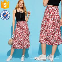 Calico Print Skirt Manufacture Wholesale Fashion Women Apparel (TA3083S)