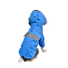 Neutral Reflective Strip Waterproof  Pet Clothes  Hoodie Clothing Pet Clothes Dog Coat