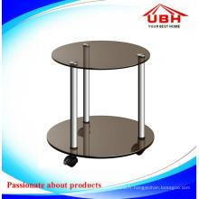 Table basse multifonctionnelle en verre trempé