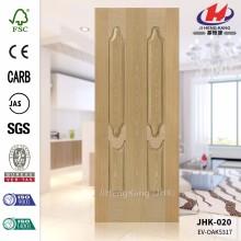 JHK-020 Most Sale Home Depot Plywood EV ASH 5317 Veneer Internal Moulded MDF Door Skin  Most Popular