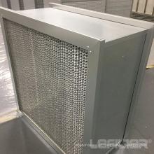 Filtro de caixa profunda de alumínio HEPA caixa plissada