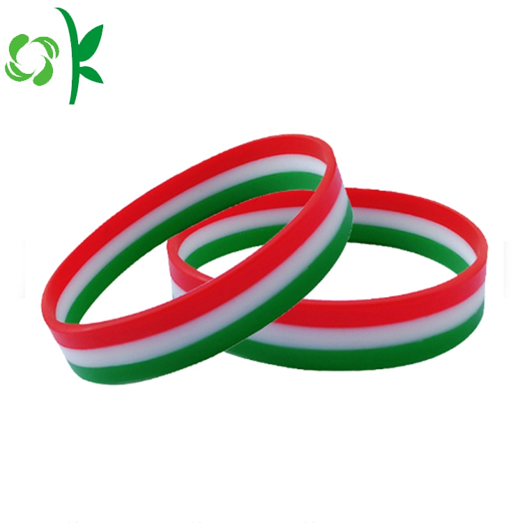 Flag Color Layer Silicone Bands