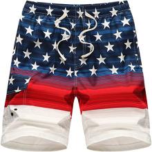Shorts de playa con bañador para hombre