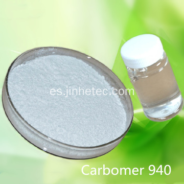 Carbopol Carbomer 940 para desinfectante de manos