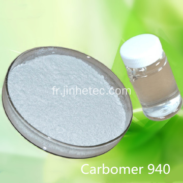 Carbopol Carbomer 940 pour gels hydratants