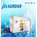 Kühlraum mit kühlendem Kühlgerät-System
