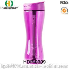 2016 garrafa de shaker plástico recém venda quente (HDP-0309)