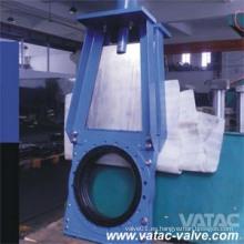 Válvula de compuerta de hierro fundido DIN / hierro dúctil bajo Pn10 / Pn16