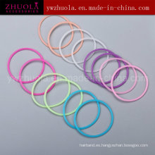 Banda de pelo de silicona para niñas