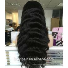 Las mejores pelucas del cabello humano de Aliexpress de la calidad pelucas llenas del cordón del pelo humano del frente del cordón