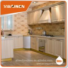 Armario de cocina pvc gabinete de cocina puerta para muebles de hogar