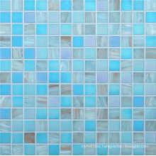 20*20mm Golden Line Mosaic Wall Tile, Glass Mosaic