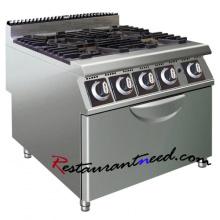 K443 4 Burner Gas Cooker With Oven