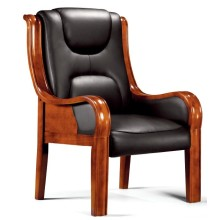 Tapicería gruesa de lujo Asientos largos antiguos Cómoda silla de conferencia