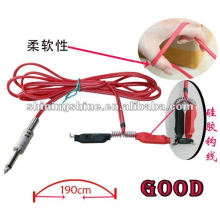 2016 hot sale silicone tattoo footswitch clip cord