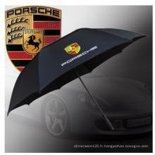 Parapluie adapté aux besoins du client de golf, parapluie de tasses de parapluie de publicité anti-UV.