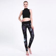 Print High Waist Yoga Sport Legging Pants 0244