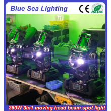 2015 New 10R 280w 3in1 moving head lights for sale