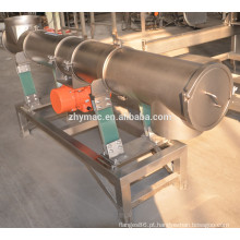 Vibração do transporte do tubo, tubo transportador helicoidal