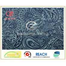 240t Old Flower Printing Poly Pongee Fabric for Garment Use (ZCGP057)