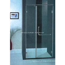 AS / NZS2208 Australian padrão temperado vidro Frameless pivô chuveiro tela (H010B)