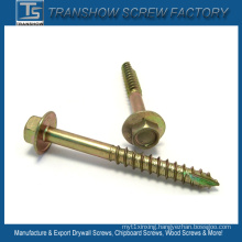 6.3*120mm Hex Flange Head Screw Drilling Point