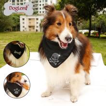 Acessórios para animais de estimação por atacado China costume impresso cão de estimação lenço bandana