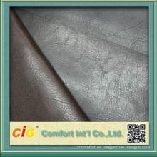 Cuero sintético chino de buena calidad semi PU