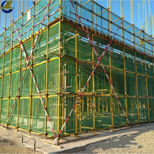 Filet de maille de sécurité anti-poussière de construction