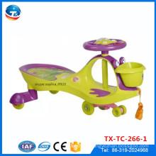 Фабрика оптовых детей Baby Toddle Swing автомобилей Пластиковые твист автомобилей Оригинальный автомобиль плазмы для продажи