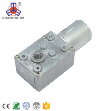 12v electric worm gear motor with reduction gear