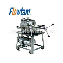 Chine fournisseurs ss304 en acier inoxydable plaque type type filtre presse