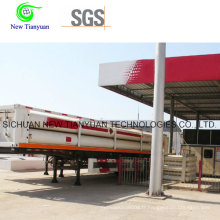 12 CNG Jumbo Tubes Semi Trailer Container