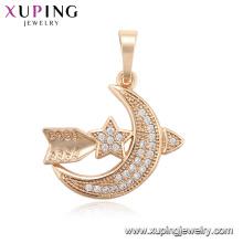 Colgante de moda 33701-Xuping con baño de oro de 18 quilates