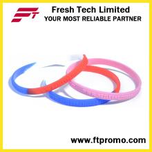 2016 quente vendendo esportes wristband de silicone com logotipo