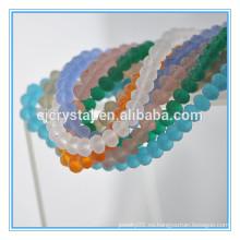Perla de cristal para la pulsera, nuevos granos del color en China