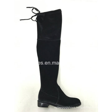Latest Elegant Elastic Thigh High Lady Boots