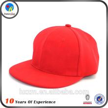 2016 personalizar chapéus liso snapback atacado